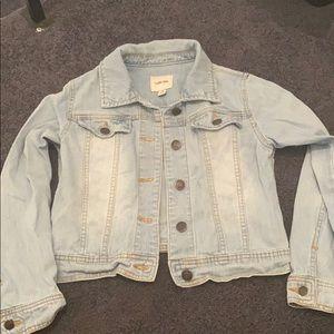 Cherokee Jean jacket (target)